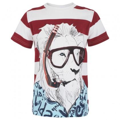 Desigual lion shirt
