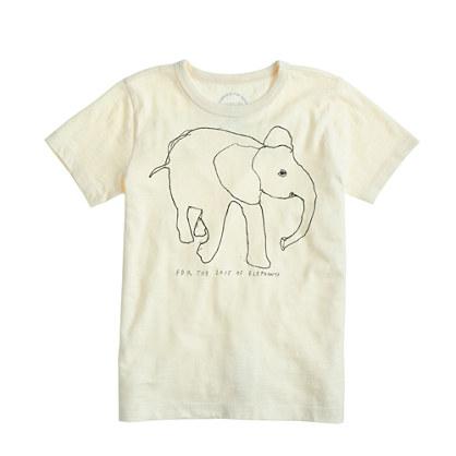J.Crew Elephant t-shirt
